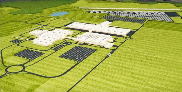 トヨタ自動車とマツダは共同で米アラバマ州に工場を新設している(イメージ図)