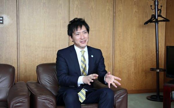 那須塩原市の渡辺美知太郎市長