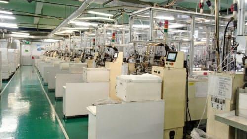 アイリスオーヤマは現在、中国でマスクを生産している
