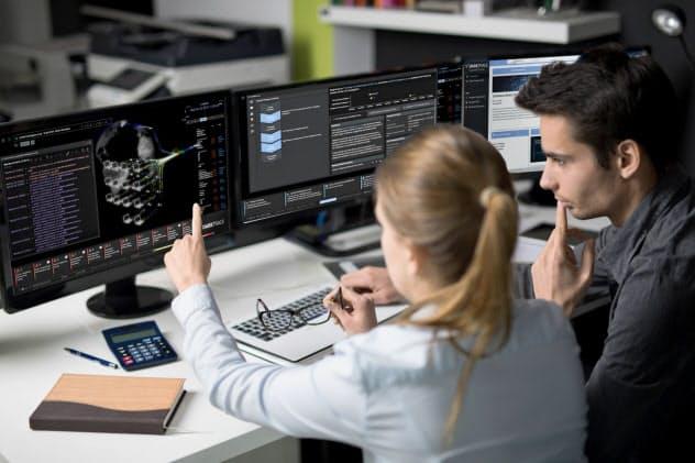 ダークトレース社はAIを使ったシステム監視ソフトを世界展開している(ダークトレース・ジャパン提供)