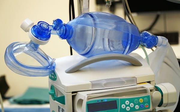 人工呼吸器など医療機器向け半導体の生産体制を拡充する