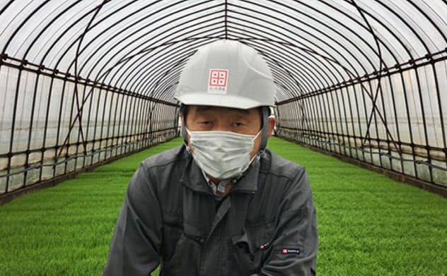仏田利弘氏は新型コロナの感染防止に全力をあげる(石川県野々市市)