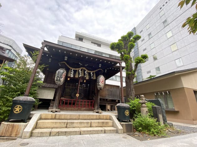 太田姫稲荷神社(東京都千代田区)