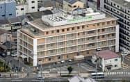 大阪市の「なみはやリハビリテーション病院」=共同