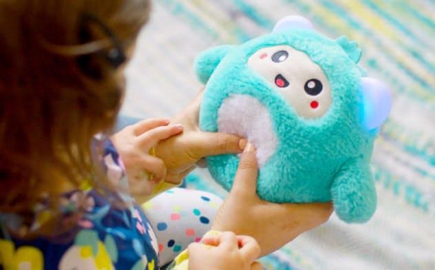 ぬいぐるみのような外見が特徴で子供にも受け入れられやすい(悟宝提供)