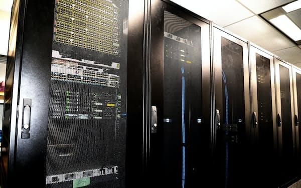 富士通クラウドテクノロジーズはクラウドサービスの余剰計算能力を提供(同社のサーバー)