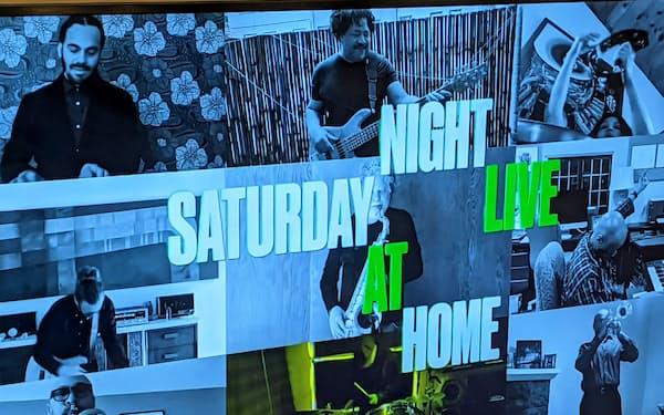 米NBCの人気コメディー番組「サタデー・ナイト・ライブ」はZoom一色になった。