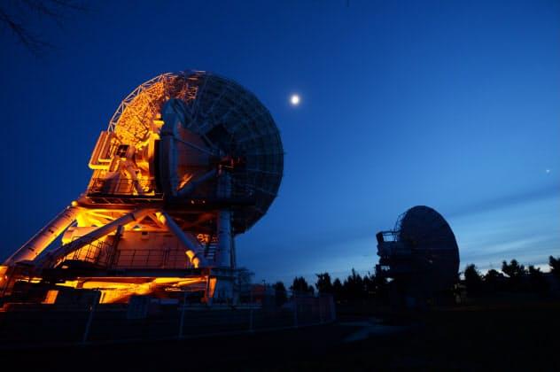 国立天文台水沢VLBI観測所(撮影:編集委員 井上昭義)