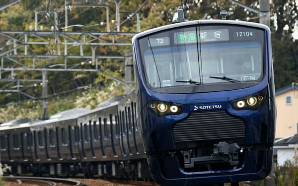 20年3月期はJR線直通に合わせて新車両も導入していた