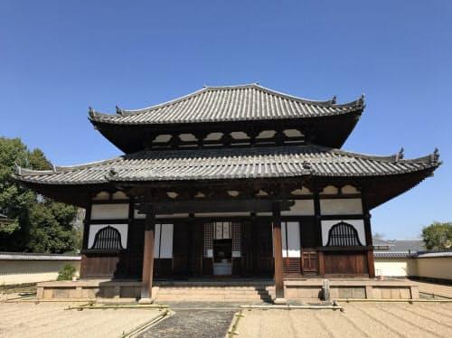 現在の戒壇堂は1732年に再建された