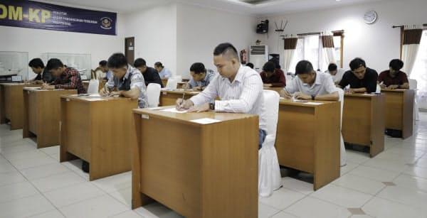 インドネシアの首都ジャカルタで初めて開催された漁業の特定技能の筆記試験(1月)