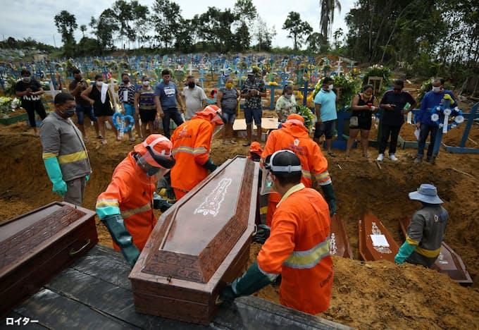新型コロナ:ブラジルの新型コロナ死者数5000人超 1週間で7割増: 日本 ...