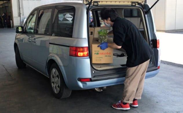フードサプライが運営するドライブスルー八百屋(千葉県野田市)