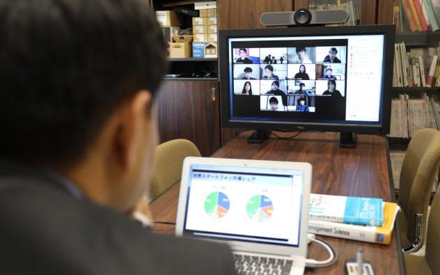 名古屋商科大学のオンライン授業
