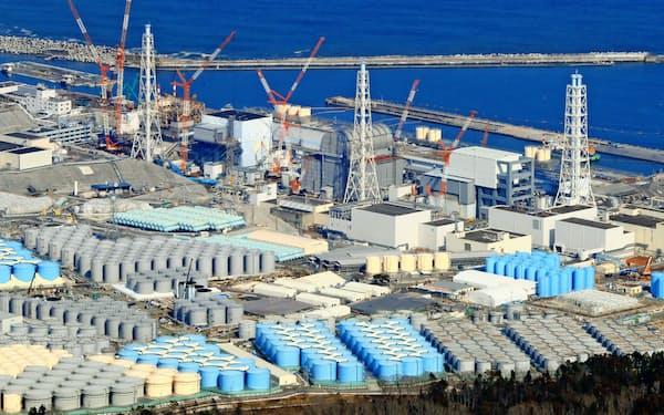 福島第1原発の廃炉など課題は山積している