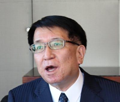 北洋銀行の安田光春頭取(28日、札幌市)