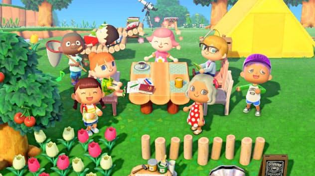 「あつ森」は発売12日でダウンロード販売が500万本とゲーム機向けソフトで過去最高