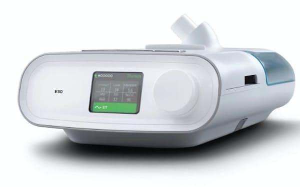 フィリップスの新型人工呼吸器「E30システム」