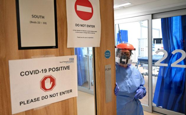 英国内の病院は新型コロナウイルス対策に追われる=ロイター