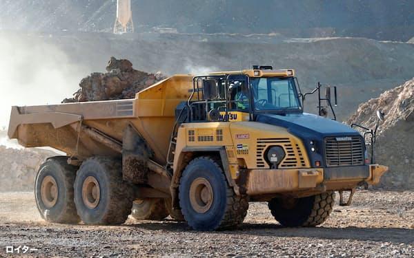 米国は鉱山から採掘したレアアースの製品化を急ぐ=ロイター