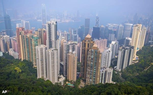 香港は恒常的な住宅不足だ=AP