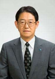 東和銀行の頭取に昇格する江原洋氏