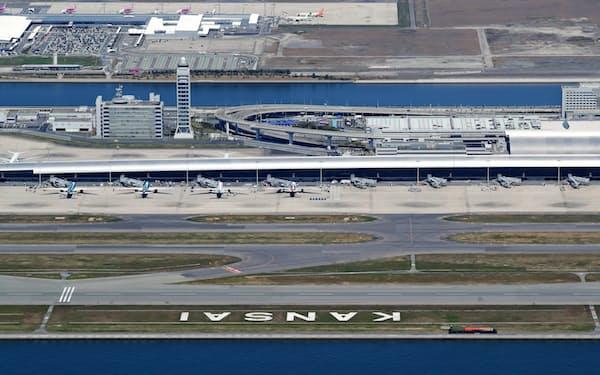 関西国際空港はオリックスなどの企業連合が運営する