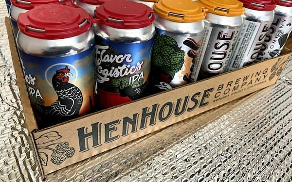 カリフォルニア州のヘンハウス醸造所はコロナでの収入減を補うため、ショッピファイを使ってビールの通販を始めた