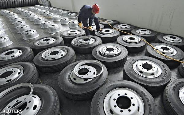 タイヤ需要の回復は鈍い=ロイター