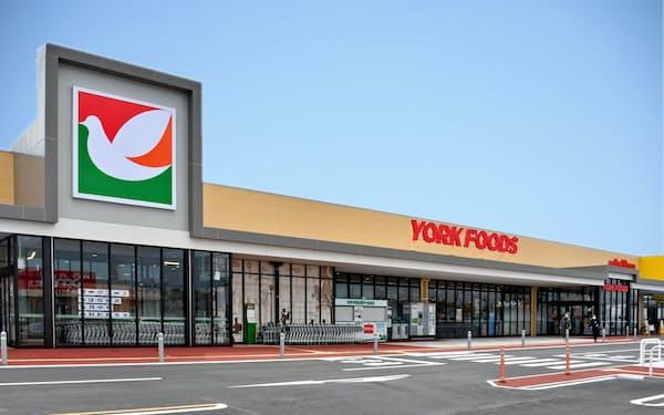 ヨークマートが13日に開店する新型スーパー「ヨークフーズちはら台店」(千葉県市原市)