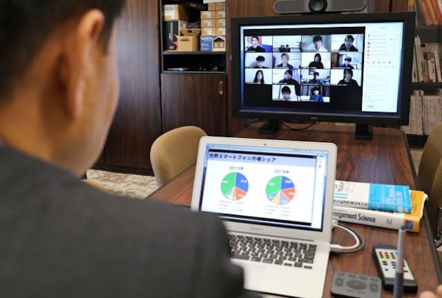 名古屋商科大はオンライン授業を進めている