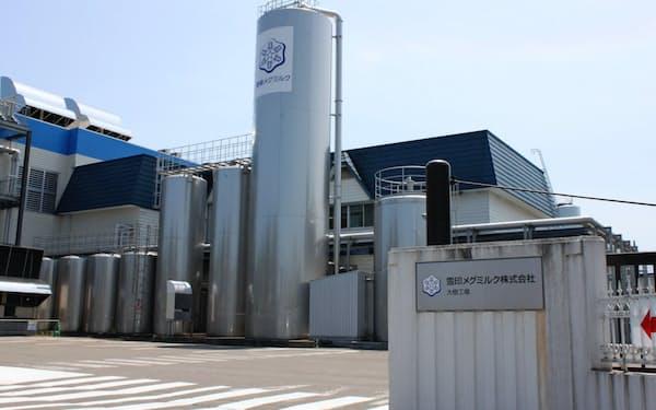 雪印メグミルクの大樹工場(北海道大樹町)
