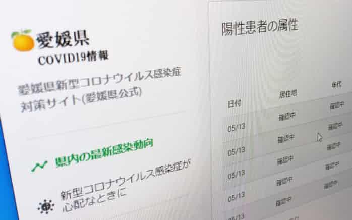 コロナ 速報 新聞 愛媛