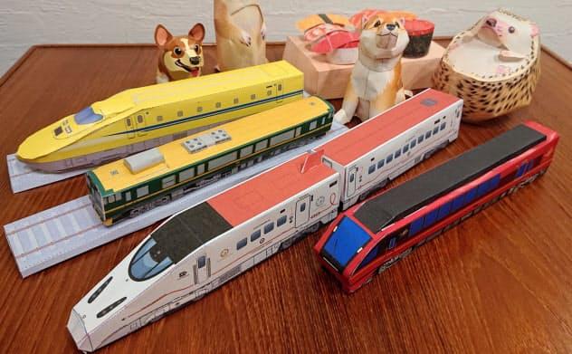 キヤノンや鉄道会社のサイトなどから入手して作ってたが、想像以上に難しかった