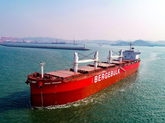 船舶受注残、4月末1700万総トン割れ 低調続く: 日本経済新聞