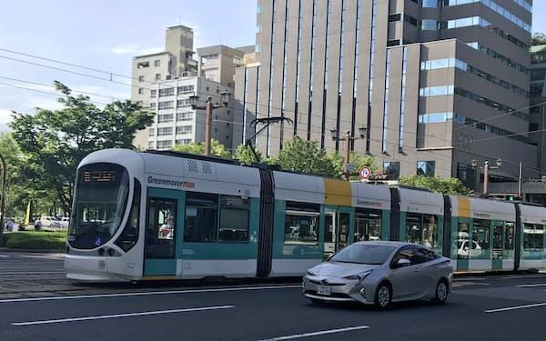 広島電鉄は路面電車の平日の運行ダイヤを通常時に戻す