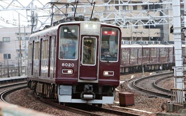 外出自粛の影響で阪急電鉄の利用者は減った