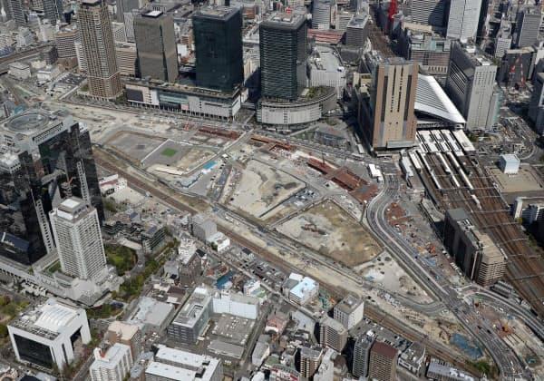 再開発地区「うめきた2期」には阪急電鉄も開発事業者として参画する(大阪市)
