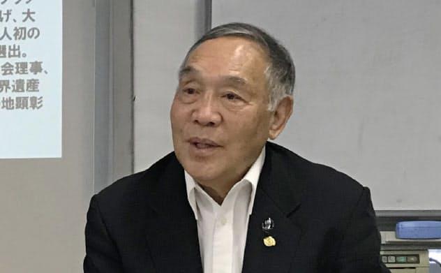 坂田氏は関西学生代表の活動を通じ大学のレベルアップに寄与した(写真は2019年)
