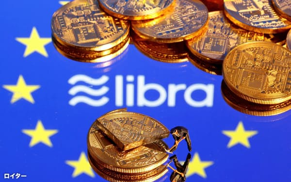 デジタル通貨「リブラ」に対しては、世界の金融当局から慎重論が相次いでいる=ロイター