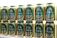 タイ・ビバレッジが生産する「チャーンビール」