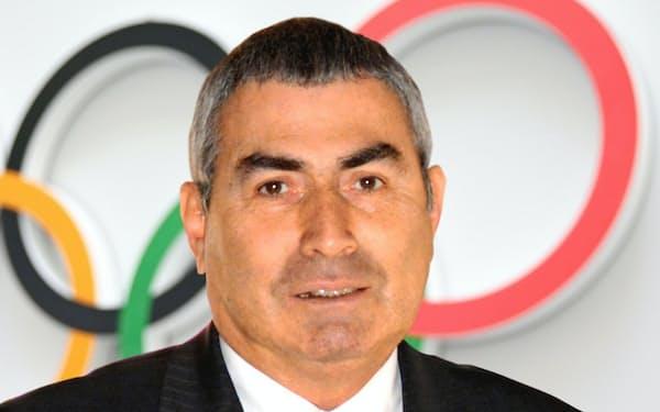 国際オリンピック委員会(IOC)のエルデネル副会長