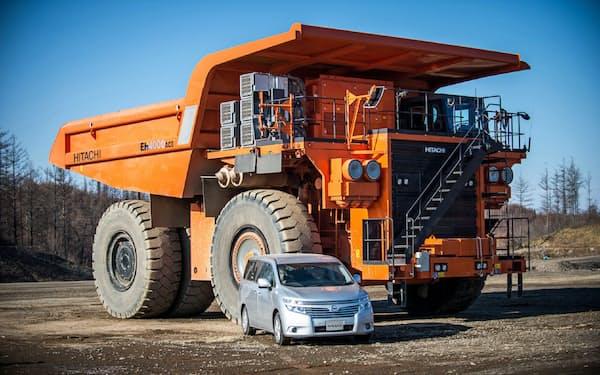 2014年には日産自動車の運転支援技術を日立建機のダンプトラックに搭載できるようにした