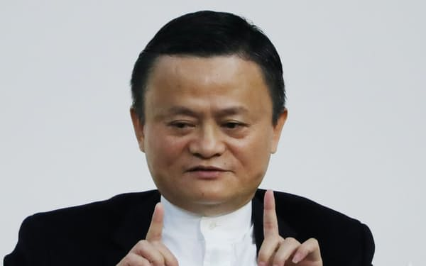 アリババ集団の創業者の馬雲(ジャック・マー)氏(2019年12月)