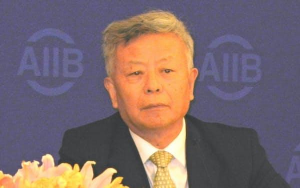 AIIBの金総裁(2016年、北京市で)