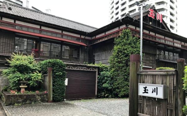 木造の味わい深い建物は国登録有形文化財にも指定されていた(千葉県船橋市)