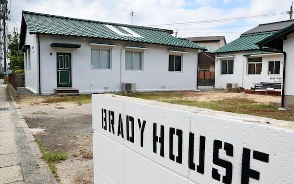 米軍ハウスを改装した宿泊施設「ブレディハウスサイトザキ」(福岡市東区)