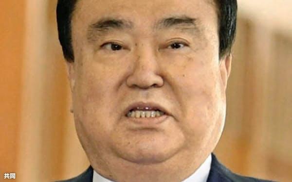 法案を提出した韓国の文喜相議長は引退する=共同