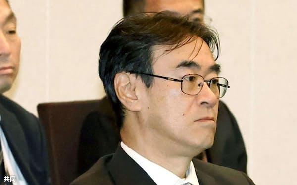 検察長官会同に出席した黒川弘務東京高検検事長(2月、法務省)=共同