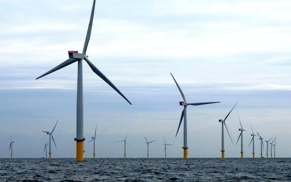先行する欧州では既に大規模な洋上風力発電設備が稼働している。=RWE提供